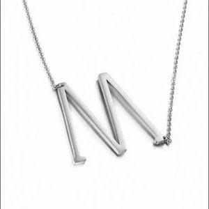 Jewelry - Initial M Necklace